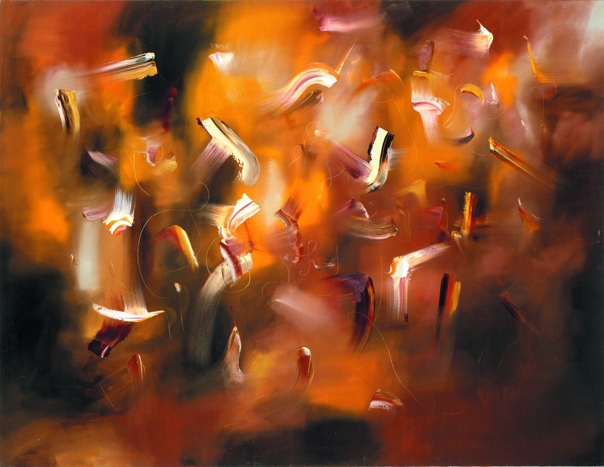 DEDICATION TO REMBRANDT, 2007, oil in canvas, 150 x 200 cm. Private collection