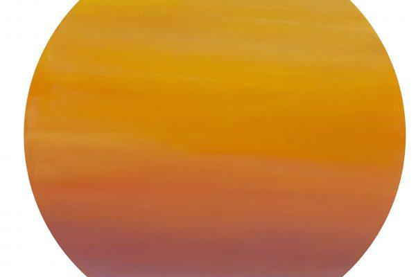 SUNSET ON GOA, 2009, oil on canvas, original media, 120 cm.
