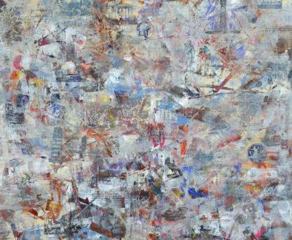 GREAT AND MAJESTIC 2018 acrylic on canvas, original media; 200 х 150 cm