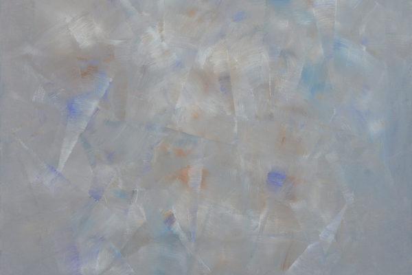 BUDDHIST СONTEMPLATION, 2017 acrylic on canvas, original media; 120 х 110 cm