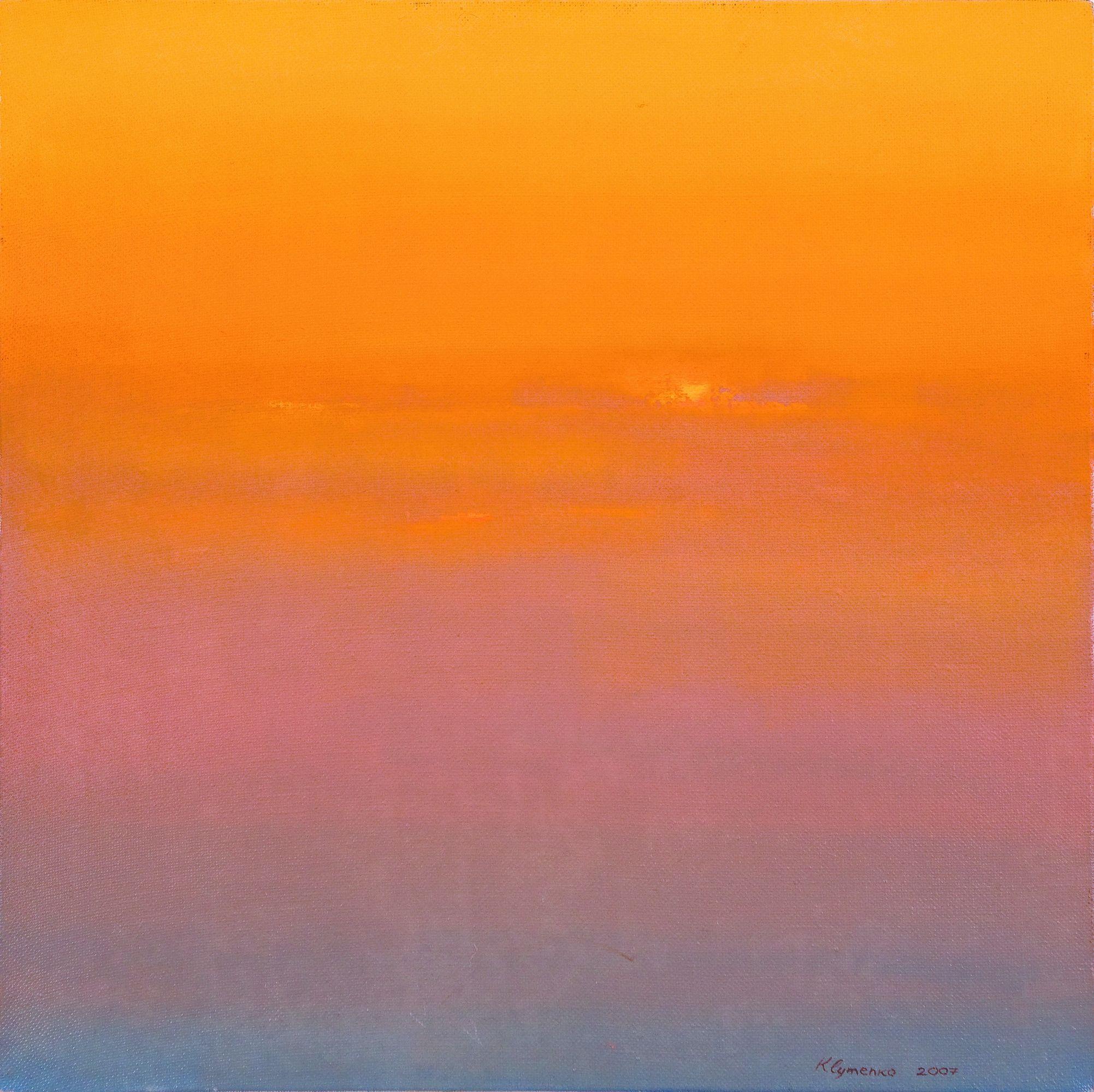 DREAM, 2007, oil on canvas, original media, 60 х 60 cm.