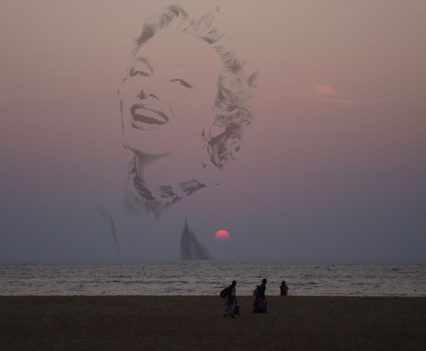 MARILYN MONROE. IN ANOTHER LIFE INDIA GOA